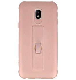 Carbon-Serie Gehäuse Samsung Galaxy J3 2017 Pink