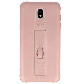 Carbon-Serie Tasche Samsung Galaxy J5 2017 Pink