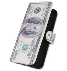 Dollar Bookstyle Tasche für Galaxy S8 Plus