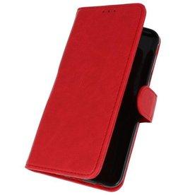Bookstyle Wallet Cases Tasche für Galaxy J7 2018 Rot
