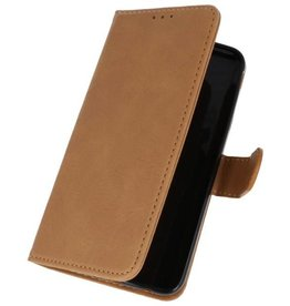 Bookstyle Wallet Cases Tasche für Galaxy J7 2018 Braun
