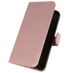 Bookstyle Wallet Cases Tasche für Galaxy J7 2018 Pink