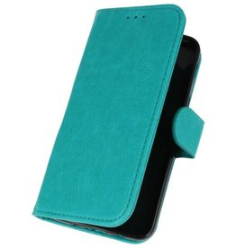 Bookstyle Wallet Cases Case for Galaxy J3 2018 Green