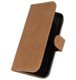 Bookstyle Wallet Cases Tasche für Galaxy J3 2018 Braun