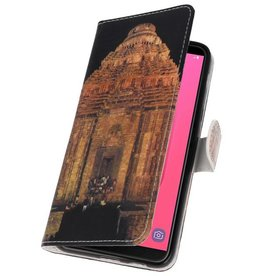 Temple 2 Bookstyle Case for Galaxy J8