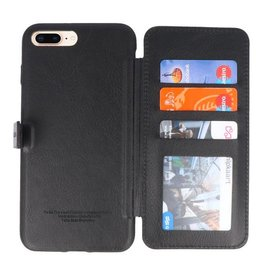 Back Cover Book Design Case for iPhone 8 Plus Black