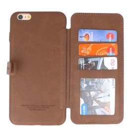 Back Cover Book Design Case for iPhone 6 Plus Mocca