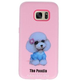 3D Print Hard Case voor Galaxy S7 The Poodle