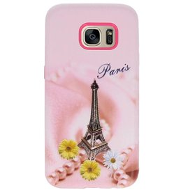 3D Druck Hard Case für Galaxy S7 Paris