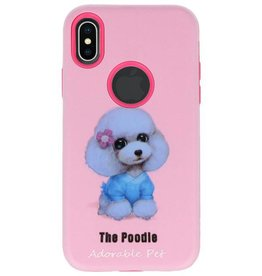 3D Print Hard Case voor iPhone X The Poodle
