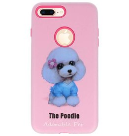 3D Print Hard Case voor iPhone 8 Plus The Poodle