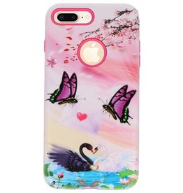 3D Print Hard Case for iPhone 8 Plus Butterfly
