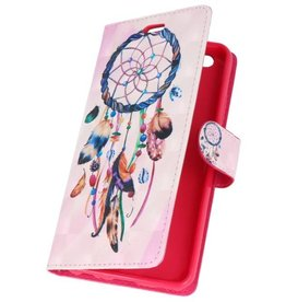 Bookstyle Case for Huawei P20 3D Print Dreamcatcher