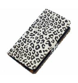 Chita Bookstyle Tasche für HTC One M8 Weiß
