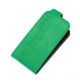 Devil Classic Flip Hoes voor Galaxy S5 G900F Groen