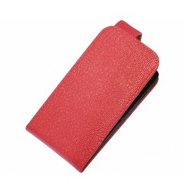 Devil Classic Flip Hoes voor Galaxy S5 G900F Roze