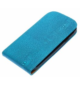 Devil Flip Hoes voor Galaxy S3 i9300 Turquoise