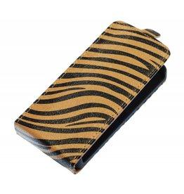 Zebra Flip Case for Galaxy S3 i9300 Brown