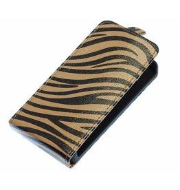 Zebra Flip Case for Galaxy S3 i9300 Gray