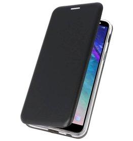 Slim Folio Case für Galaxy A6 2018 Schwarz