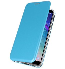 Slim Folio Case voor Galaxy A6 2018 Blauw