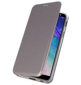 Slim Folio Case für Galaxy A6 2018 Grau