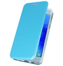 Slim Folio Case für Galaxy J3 2018 Blau