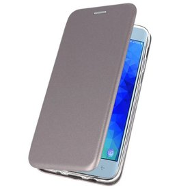 Slim Folio Case für Galaxy J3 2018 Grau