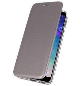 Slim Folio Case für Galaxy A6 Plus 2018 Grau