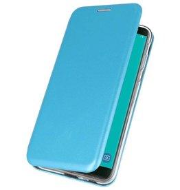 Slim Folio Case for Galaxy J6 2018 Blue