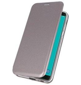 Slim Folio Case for Galaxy J6 2018 Gray