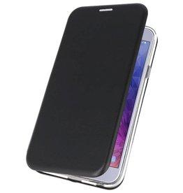 Slim Folio Case voor Galaxy J4 2018 Zwart