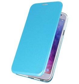 Slim Folio Case for Galaxy J4 2018 Blue