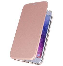 Slim Folio Case for Galaxy J4 2018 Pink