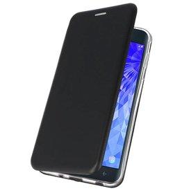 Slim Folio Case für Galaxy J7 2018 Schwarz