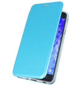 Slim Folio Case for Galaxy J7 2018 Blue