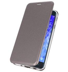 Slim Folio Case für Galaxy J7 2018 Grau