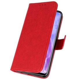 Bookstyle Wallet Hüllen Huawei Nova 3 Red Case