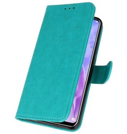 Bookstyle Wallet Cases Huawei Nova 3 Green Case