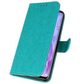 Bookstyle Wallet Hüllen Huawei Nova 3 Green Case