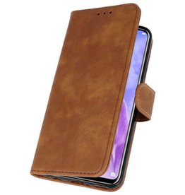 Bookstyle Wallet Hüllen Huawei Nova 3 Brown Case