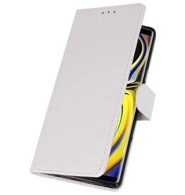Bookstyle Wallet Cases for Galaxy Note 9 White