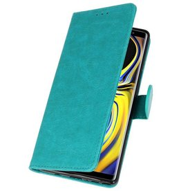 Bookstyle Wallet Cases for Galaxy Note 9 Green