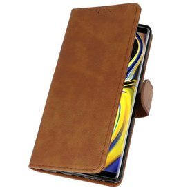 Bookstyle Wallet Cases for Galaxy Note 9 Brown