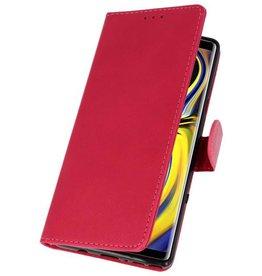 Bookstyle Wallet Hüllen für Galaxy Note 9 Pink