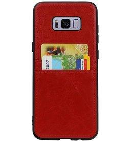 Rückendeckel 2 Passes für Galaxy S8 Plus Rot