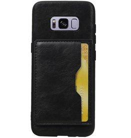 Standing Back Cover 1 Passes for Galaxy S8 Black