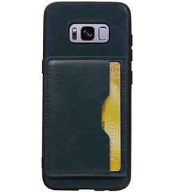 Portrait Back Cover 1 Cards for Galaxy S8 Navy