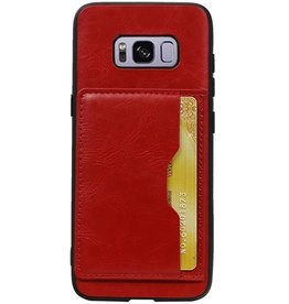 Standing Back Cover 1 Passes for Galaxy S8 Red