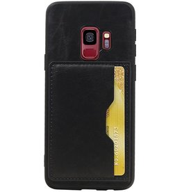 Portrait Back Cover 1 Cards for Galaxy S9 Black